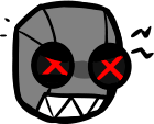 Robot 404 Death Icon