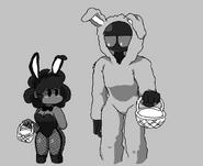 Whitty and Carol got that rabbit drip