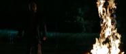 Jason with his burlap mask