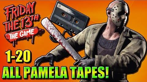 ALL PAMELA TAPES 1-20 Friday the 13th Game