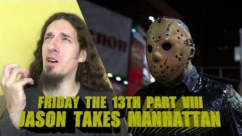Friday the 13th Part VIII Jason Takes Manhattan Review