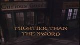 Mightier Than the Sword title card