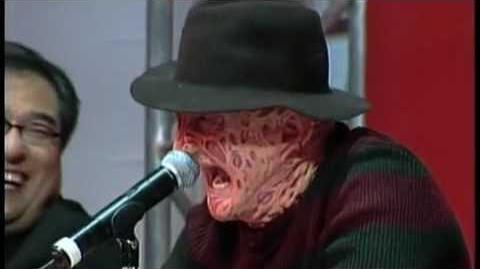 Freddy VS Jason -Weigh-In, las Vegas ...