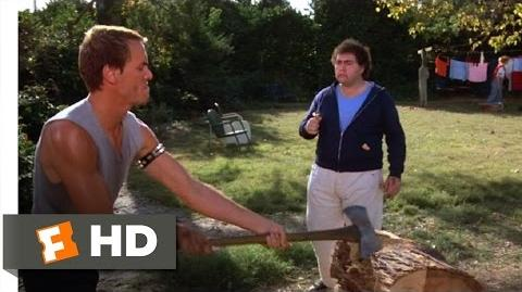 Friday the 13th 5 (2 9) Movie CLIP - I've Never Really Chopped Wood Before (1985) HD