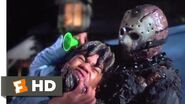 Friday the 13th VII The New Blood (1988) - Party Horn Kill Scene (4 10) Movieclips