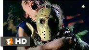 Jason X (2001) - Jason Plays Deathmatch Scene (4 10) Movieclips