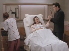 The One With The Birth Joey Helper