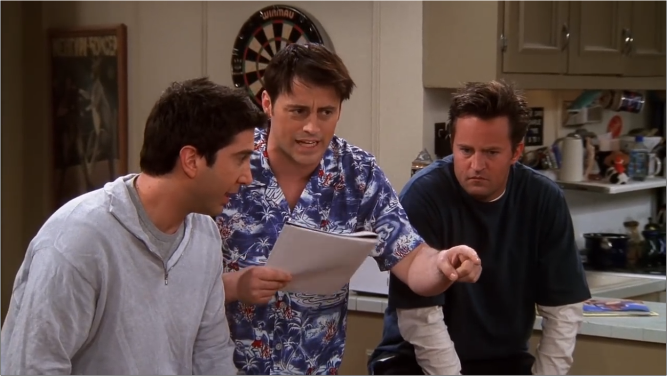 The One With The Baby Shower