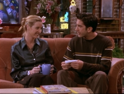 Phoebe and Ross (4x07)