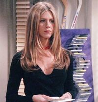 Rachel long hair