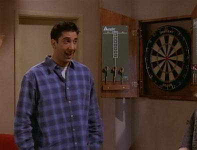 Ross' New Dart Board