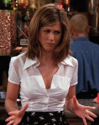 Rachel white shirt