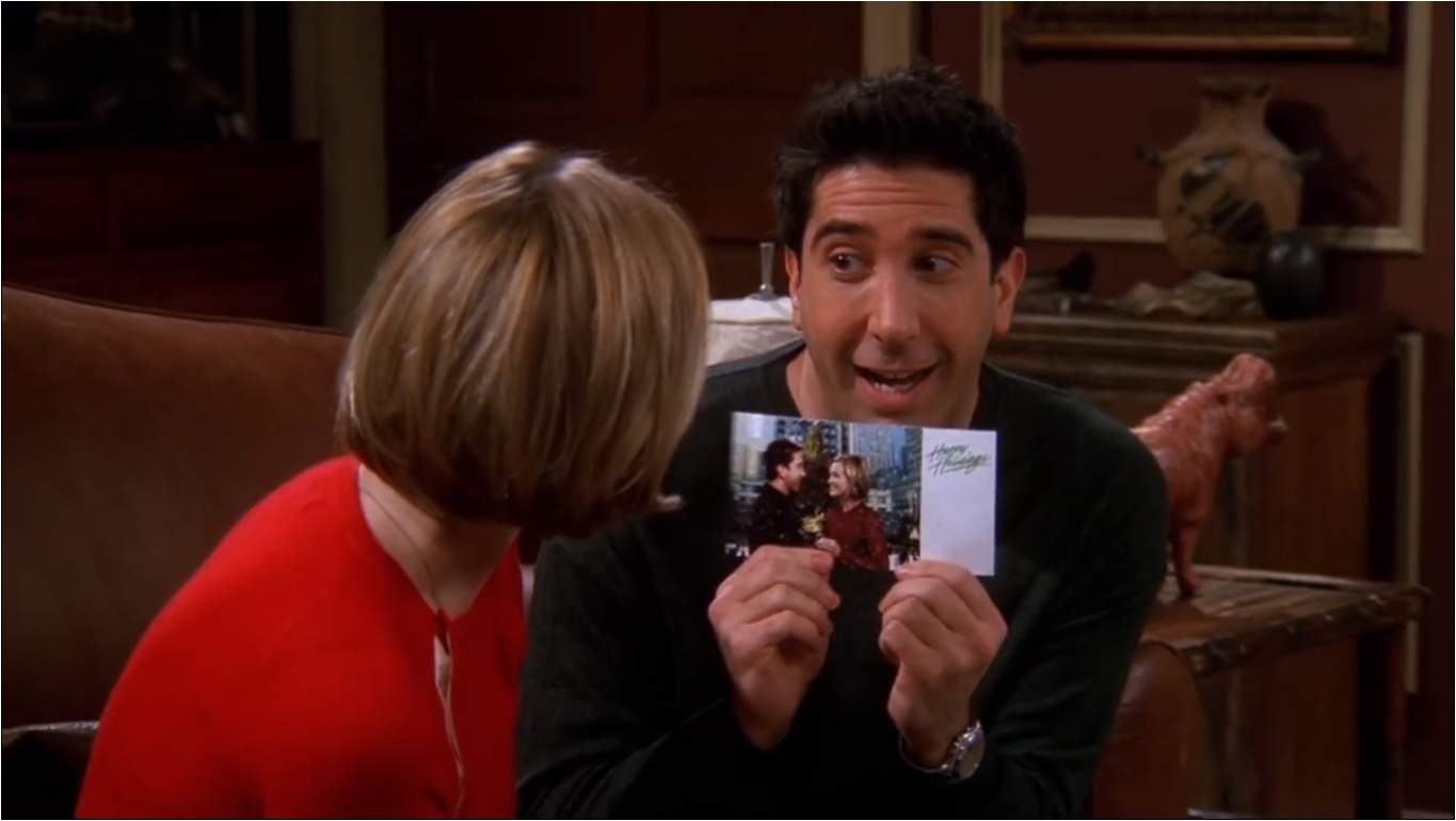 The One With Ross' Step Forward