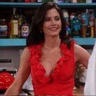 Monica red dress
