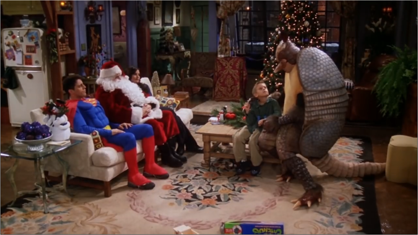 The One With The Holiday Armadillo   Friends Central   Fandom