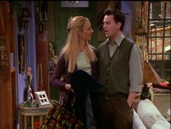 Phoebe Flirts With Chandler