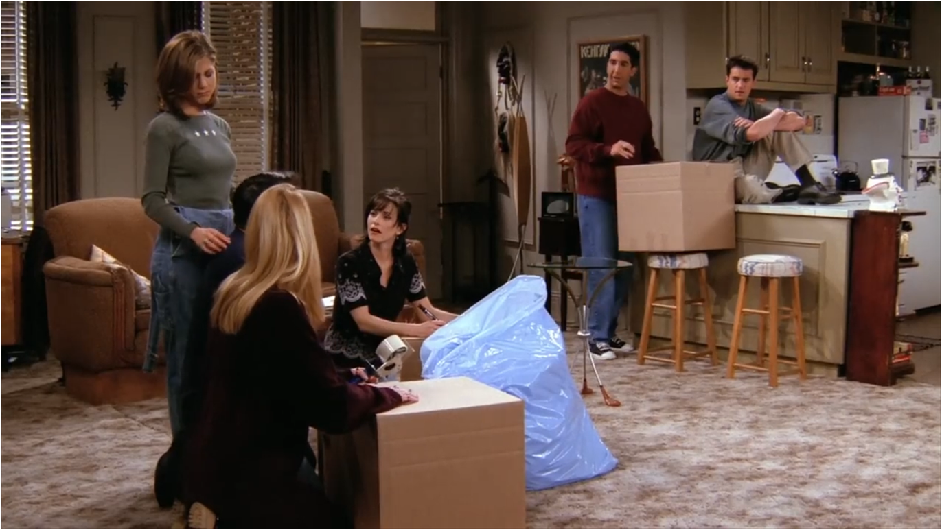 The One Where Joey Moves Out