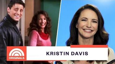 Kristin Davis Was So Nervous Guesting On 'Friends' As Joey's Love Interest TODAY Originals