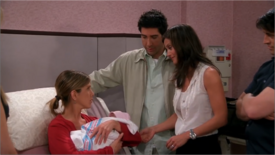 Friends TV Show Personalised The One Where Rachel Has A Baby!