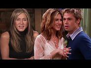 Friends Reunion- Jennifer Aniston REACTS to Brad Pitt's Cameo