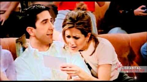 Ross & Rachel Just the way you are
