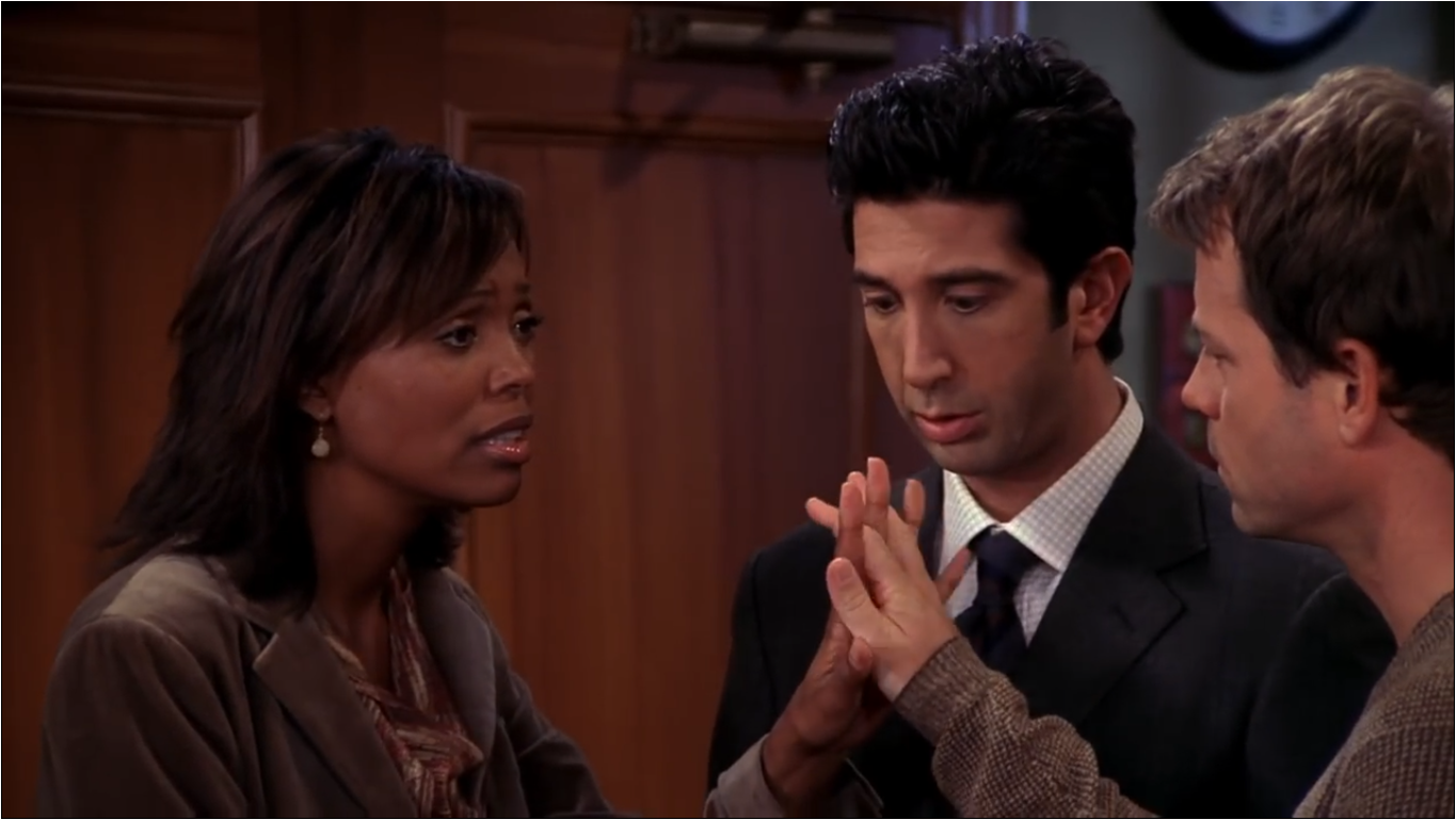 The One With Ross' Grant