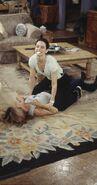 Monica and Rachel fight s05e22