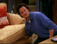 Chandler Gets Birthing Tape