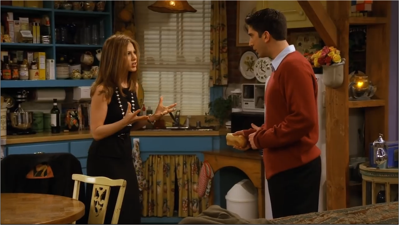 The One Where Ross And Rachel Take A Break