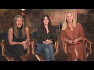 Friends REUNION- Jennifer Aniston, Courteney Cox and Lisa Kudrow Talk EMOTIONAL Return to Set