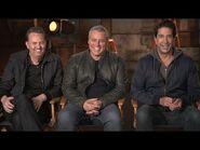 Friends REUNION- Matthew Perry, David Schwimmer and Matt LeBlanc Talk Nostalgia and HBO Max Special