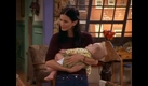 Monica with baby