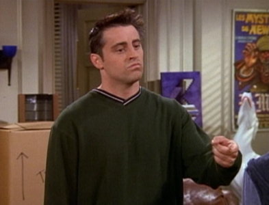 Joey wants Sex with Monica!