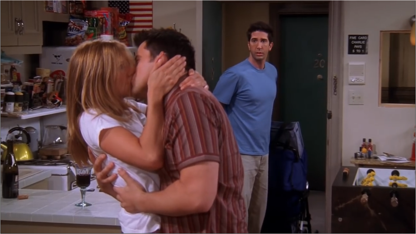 The One After Joey And Rachel Kiss