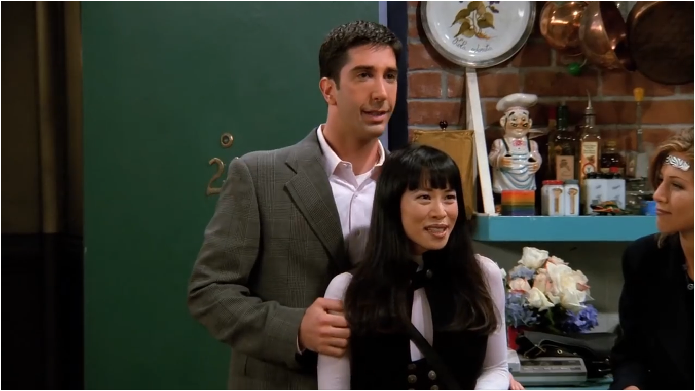 The One With Ross' New Girlfriend