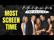 FRIENDS The Reunion Screen Time Characters