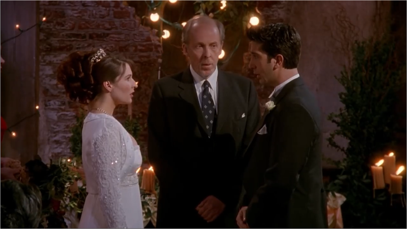 The One With Ross' Wedding, Part 2