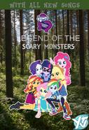 My Little Pony Equestria Girls Legend Of Everfree (2016 YTV DVD)