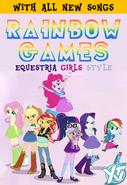 My Little Pony Equestria Girls Friendship Games (2015 YTV DVD)