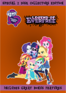 My Little Pony Equestria Girls Legend Of Everfree (2016 Deluxe DVD)