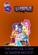My Little Pony Equestria Girls Legend Of Everfree (2017 DVD)