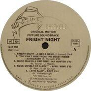 Fright Night France Soundtrack LP 03