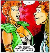 Fright Night Comics Donna and Evil Ed