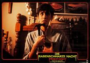 Fright Night 1985 German Lobby Card 12 William Ragsdale