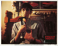 Fright Night Lobby Card 04 William Ragsdale