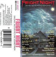 Fright Night USA Soundtrack Cassette 02