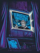 Fright Night Poster Gary Pullin - Purple Variant limited ed 50