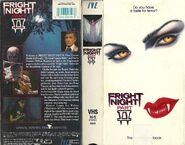 Fright Night Part 2 USA VHS Cover