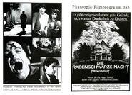 Fright Night 1985 German Program