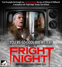 You're So Cool Brewster The Story of Fright Night - Roddy McDowall Chris Sarandon